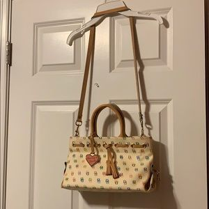 Dooney & Bourke Cream & Candy-Colored Purse